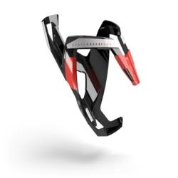 Koszyk bidonu Elite Custom Race Plus Czarno-Czerwony