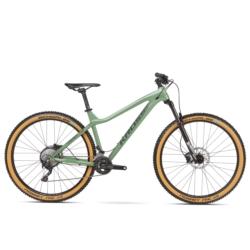 """Rower Trail Kross Dust 1.0 29"""" rozmiar XL 2019 zielony-grafitowy połysk"""
