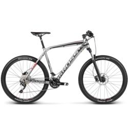 * Rower MTB XC 27,5 Kross Level R6 rozmiar M 2017 grafitowy-czarny-czerwony mat