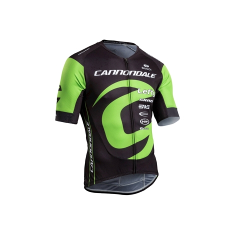 Koszulka Cannondale Training rozmiar XL czarno-zielona
