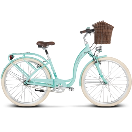 Rower miejski Le Grand Lille 6 rozmiar L 2019 seledynowy
