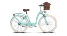 Rower miejski Le Grand Lille 6 rozmiar L seledynowy