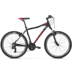 Rower MTB 26 Kross Lea 1.0 rozmiar M 2019 czarny-malinowy-grafitowy mat