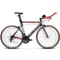 Rower szosowy Triathlon Kross VENTO TR 2.0 rozmiar L 2016 czarny-czerwony mat