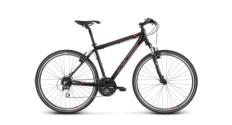 Rower crossowy Kross EVADO 3.0 Men rozmiar L czarny-czerwony połysk