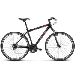 Rower crossowy Kross EVADO 3.0 Men rozmiar M czarny-czerwony połysk
