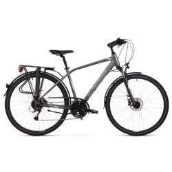 * Rower trekkingowy Kross TRANS 5.0 Men rozmiar M 2020 grafitowy-srebrny połysk