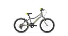 Rower Kross Hexagon Mini 1.0 2021 grafitowy-limonkowy-srebrny połysk