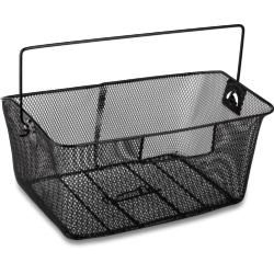 Koszyk na bagażnik Le Grand Dahlia stalowy czarny