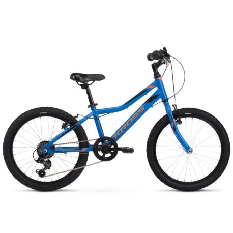 * Rower Kross Hexagon Mini 1.0 2020 niebieski-pomarańczowy połysk