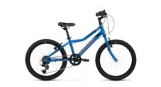 Rower Kross Hexagon Mini 1.0 2020 niebieski-pomarańczowy połysk