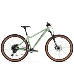 """Rower Trail Kross Dust 1.0 29"""" rozmiar XL 2020 zielony-grafitowy połysk"""