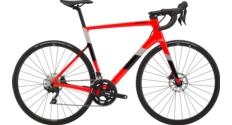 Rower szosowy Cannondale SuperSix Evo Carbon Disc 105 rozmiar 54 cm 2020 czerwony połysk TEST