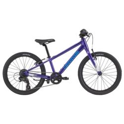 """Rower dziecięcy Cannondale Quick 20"""" Girls 2020 fioletowy połysk"""