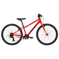 """Rower dziecięcy Cannondale Quick 24"""" Boys 2020 czerwony połysk"""