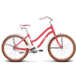 "Rower miejski Le Grand Sanibel 1 rozmiar 17"" 2016 malinowy mat"