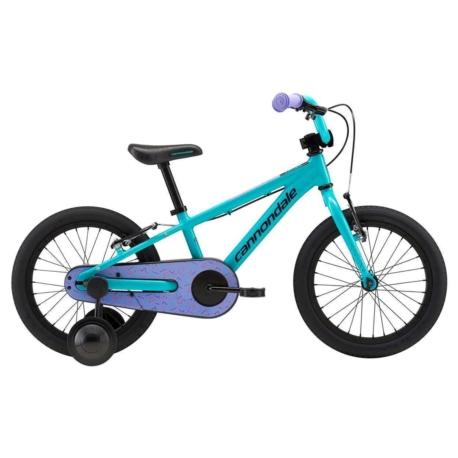 """Rower dziecięcy Cannondale Trail 16"""" Girls turkusowy"""