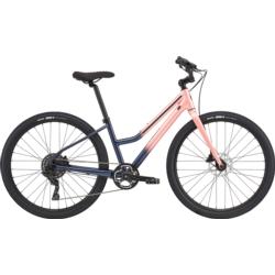 Rower miejski Cannondale Treadwell 2 Remixte rozmiar L 2020 różowy