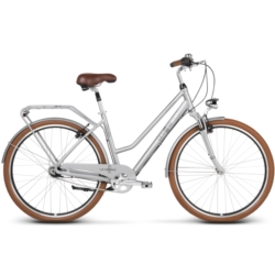 Rower miejski Le Grand Tours 2 rozmiar L srebrny połysk