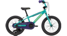 """Rower dziecięcy Cannondale Trail 16"""" Girls FW turkusowy połysk"""