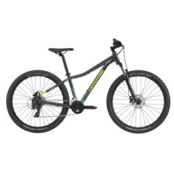 Rower MTB XC 27.5 Cannondale Trail 8 W rozmiar S 2021 grafitowy-turkusowy połysk