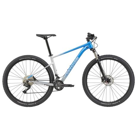 Rower MTB XC 29 Cannondale Trail SL 4 rozmiar M 2021 niebieski-srebrny połysk