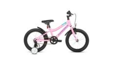 """* Rower 16"""" Kross Mini 3.0 2021 różowy-fioletowy-turkusowy połysk"""