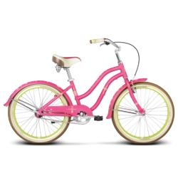 """* Rower dziecięcy Le Grand Sanibel Jr rozmiar 14"""" 2017 różowy-zielony mat"""