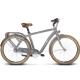 * Rower miejski Le Grand Metz 2 rozmiar L 2017 grafitowy mat