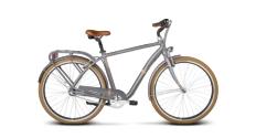 Rower miejski Le Grand Metz 2 rozmiar L 2017 grafitowy mat