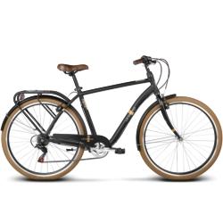 Rower miejski Le Grand Metz 1 rozmiar M 2017 czarny mat