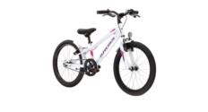 """Rower 20"""" Kross Mini 5.0 2021 biały-fioletowy-różowy połysk"""