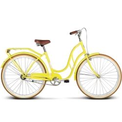 """Rower miejski Le Grand Madison 2 rozmiar 18"""" 2016 żółty połysk"""