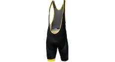 Spodenki z szelkami Kross Pave Bib Shorts rozmiar M czarno-żółte