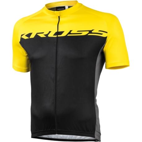 Koszulka Kross Flow rozmiar M żółta