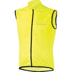 Kamizelka przeciwwietrzna Kross Brolly Vest rozmiar S żółta