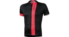 Koszulka Kross Pave rozmiar L czarno-czerwona