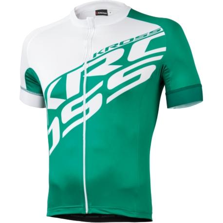 Koszulka Kross Rubble rozmiar XL zielono-biała