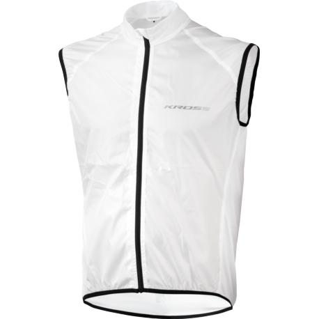 Kamizelka przeciwwietrzna Kross Brolly Vest rozmiar L biała