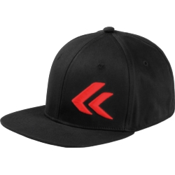 Czapka FullCap Kross rozmiar L/XL czarna czerwone logo
