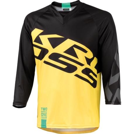 Koszulka Enduro Kross Hyde 3/4 rozmiar M żółta